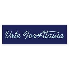 Vote For Alaina Bumper Bumper Sticker