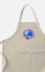 World's Greatest IT Di.. (E) BBQ Apron