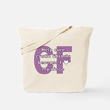 *heart* niece Tote Bag
