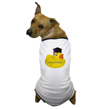 Ducky Congratulations! Dog T-Shirt