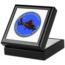 where others dream... heli Keepsake Box