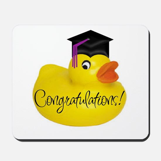 Ducky Congratulations! Mousepad