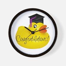 Ducky Congratulations! Wall Clock