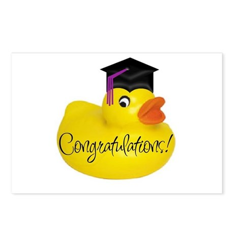 Ducky Congratulations! Postcards (Package of 8)
