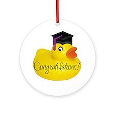 Ducky Congratulations! Keepsake (Round)