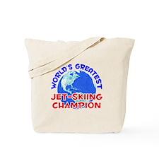 World's Greatest Jet-s.. (E) Tote Bag