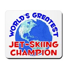 World's Greatest Jet-s.. (E) Mousepad