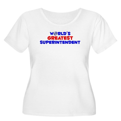 World's Greatest Super.. (A) Women's Plus Size Sco
