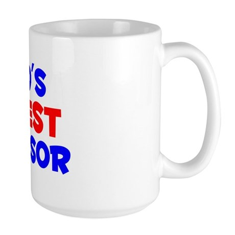 World's Greatest Super.. (A) Large Mug
