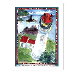 Bird Watching @ Heceta Lighthouse Posters