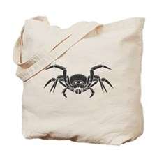 Spider Black Design #20 Tote Bag