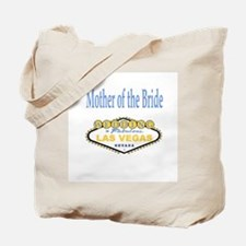 Spring YellowBlue Wedding Mother of Bride Tote Bag