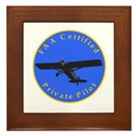Private Pilot - Classic Framed Tile