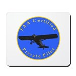 Private Pilot - Classic Mousepad