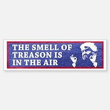 The Smell Of Treason Is In The Air Bumper Bumper Bumper Sticker