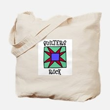 Quilters Rock Tote Bag