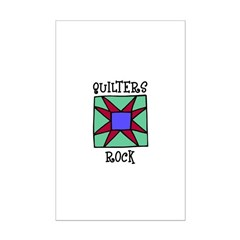 Quilters Rock Posters