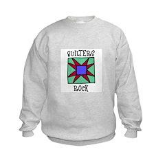 Quilters Rock Sweatshirt