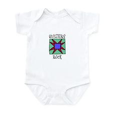 Quilters Rock Infant Bodysuit