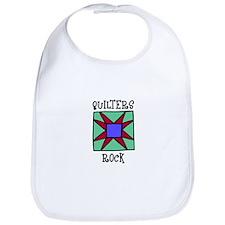 Quilters Rock Bib