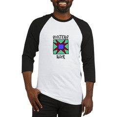 Quilters Rock Baseball Jersey