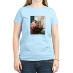 Quilters are Materialistic Women's Light T-Shirt