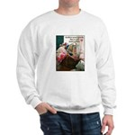 Quilters are Materialistic Sweatshirt