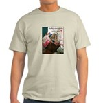 Quilters are Materialistic Light T-Shirt