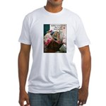 Quilters are Materialistic Fitted T-Shirt