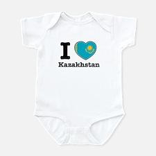 I love Kazakhstan Infant Bodysuit