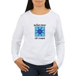 Quilters Never Cut Corners Women's Long Sleeve T-S