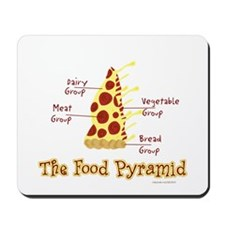 Pizza Pyramid Mousepad