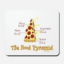 Pizza Pyramid Mousepad