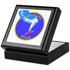 Aerobatic Pilot - Spin Keepsake Box