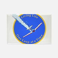 Aerobatic Pilot - Texan Rectangle Magnet