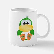 Cute St. Patty's Day Irish Green Ducky Mug