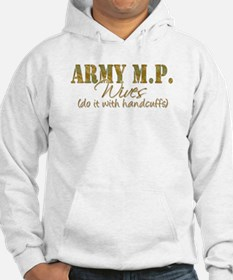 Military police wife Hoodie