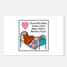 Quilt - Blanket of Love Postcards (Package of 8)