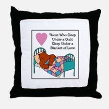 Quilt - Blanket of Love Throw Pillow