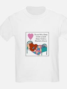 Quilt - Blanket of Love T-Shirt