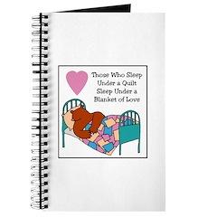 Quilt - Blanket of Love Journal