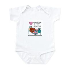 Quilt - Blanket of Love Infant Bodysuit