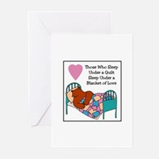 Quilt - Blanket of Love Greeting Cards (Pk of 10)