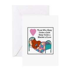 Quilt - Blanket of Love Greeting Card