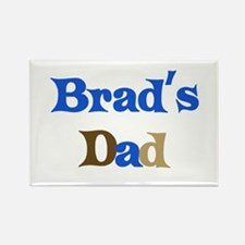 Brad's Dad Rectangle Magnet (10 pack)