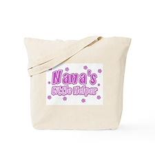 Pink Nana's Little Helper Tote Bag