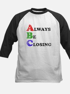 Always Be Closing Kids Baseball Jersey