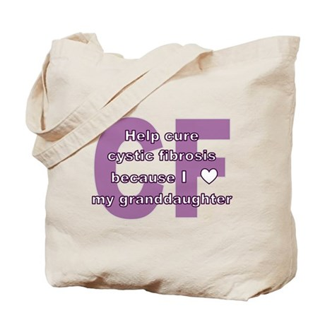 *heart* granddaughter Tote Bag