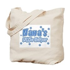Blue Nana's Little Helper Tote Bag