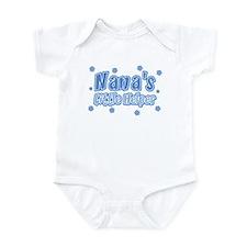 Blue Nana's Little Helper Infant Bodysuit